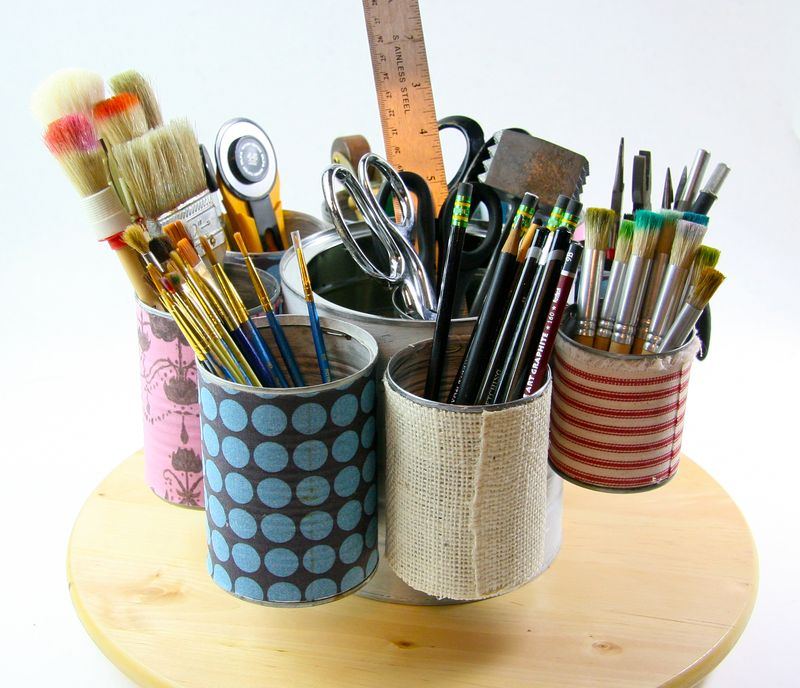 Tin can organizer-072