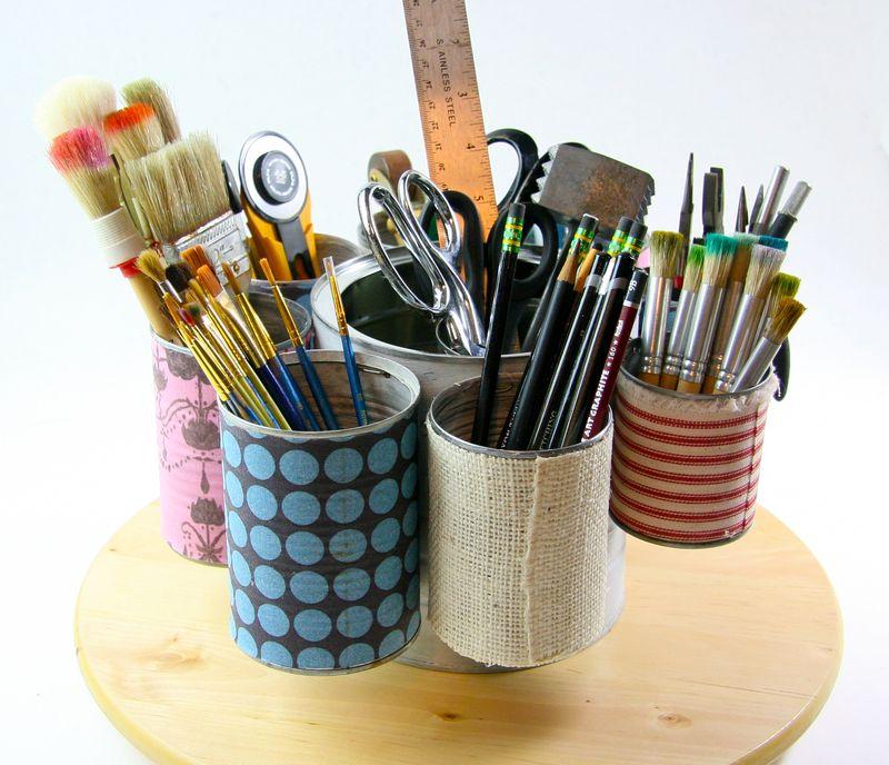 Tin can organizer-072