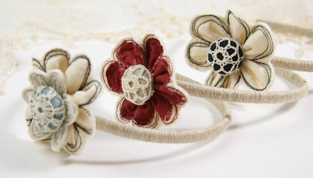 Flower headband-010