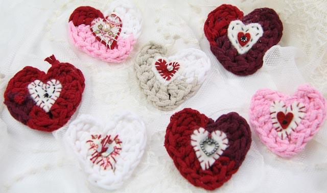Crochet hearts-046