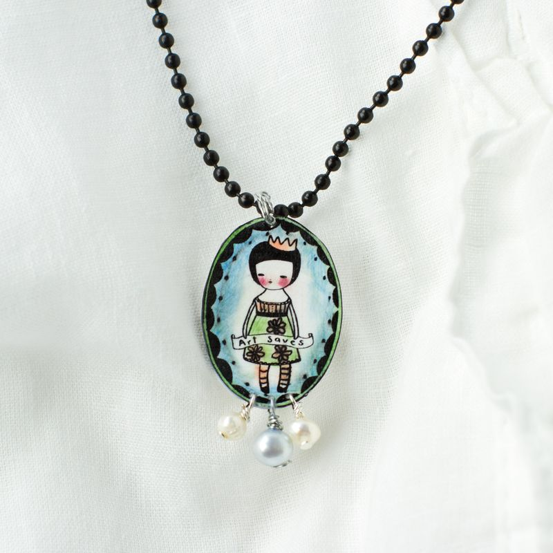 Shrink Plastic jewelry Tutorial-015