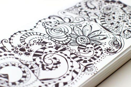 Marker doodles pictures - roseann scamardella photo