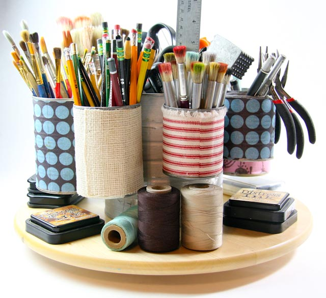 Tin can organizer-054