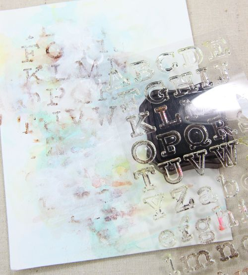 Rubber stamp journal pages-021