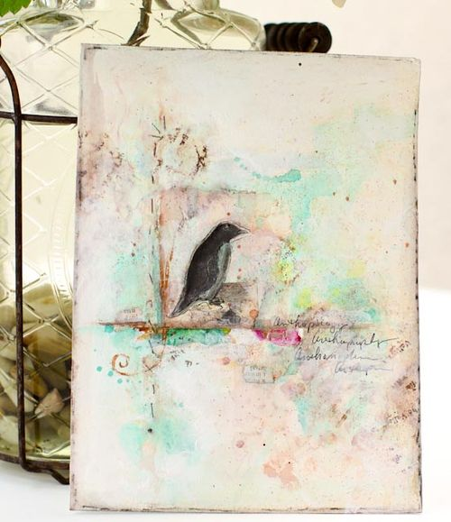 Rubber stamp journal pages-046