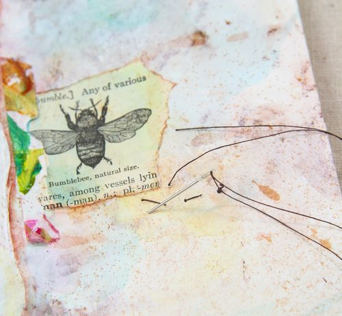 Rubber stamp journal pages-024