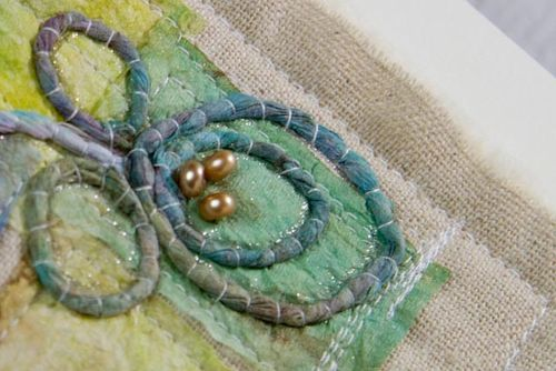 Paper towel art quilts-029