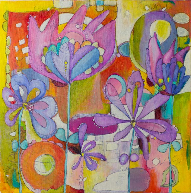 12 x 12 abstrated flowers-002