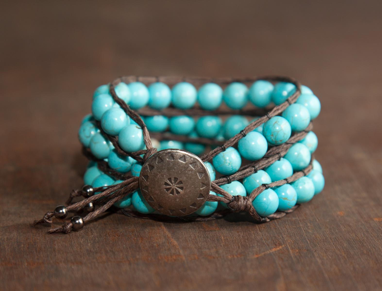 Bracelet Perles enveloppé _-117