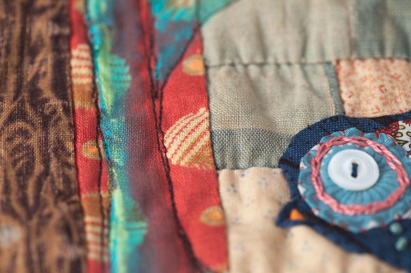 Bird quilt sqaure sample-021