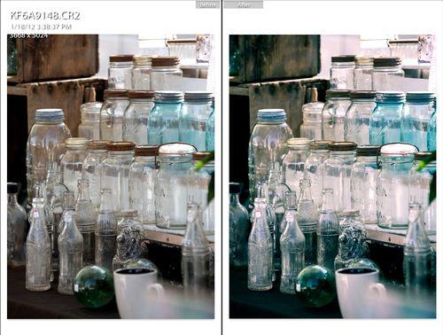 Lightroom Preset before and after