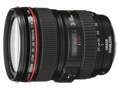Canon 24-105mm f:4 lens