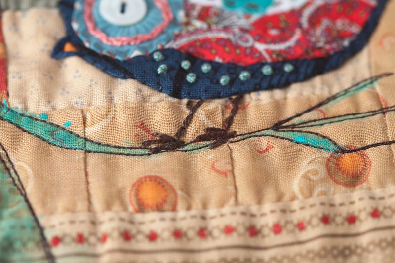 Bird quilt sqaure sample-018