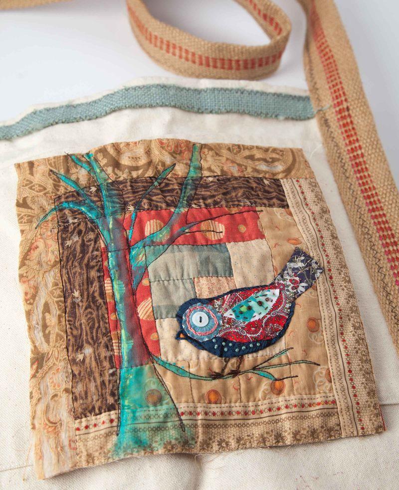 Bird quilt sqaure sample-028